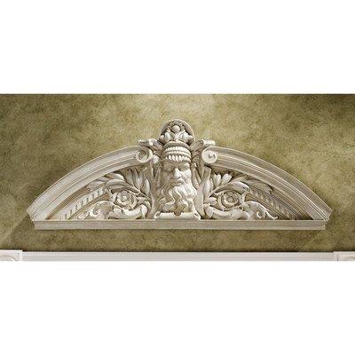 Design Toscano Prometheus The Rebel Titan Sculptural Wall Pediment (Set of 2)