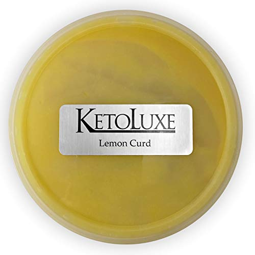 - KetoLuxe Lemon Curd, All Natural, Gluten Free, Corn Free, Sugar Free, Soy Free, Low Carb