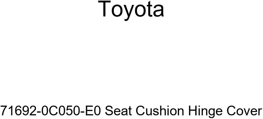TOYOTA Genuine 71692-0C050-E0 Seat Cushion Hinge Cover