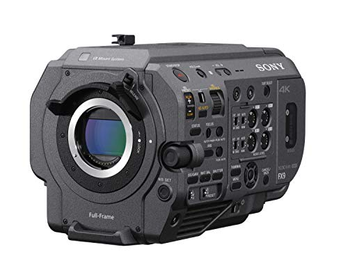 Sony PXW-FX9 XDCAM Full-Frame Camera System, Cranberry