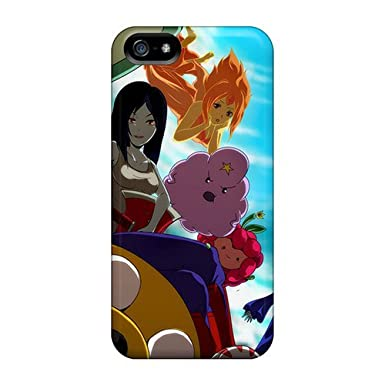 d8b84c7c78fe49 Awesome Rqx10246PNkN ChrismaWhilten Defender Hard Cases Covers For Iphone 5  5s- Adventure Time  Amazon.co.uk  Electronics