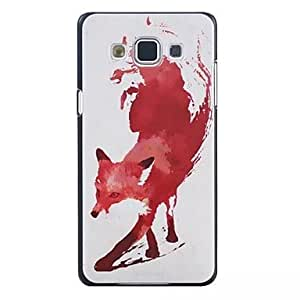 ZXC Graphic/Special Design Plastic Back Cover for Samsung GALAXY A5