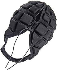 BESPORTBLE Rugby Helmet Headguard Headgear Soccer Scrum Cap Head Protector Soft Protective Helmets for Adults