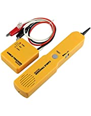 DAXGD Portátil RJ11 red de teléfono de teléfono cable probador de tóner de alambre rastreador de rastreador diagnóstico de línea de tono buscador