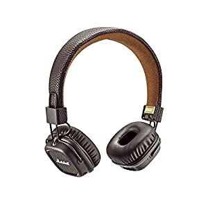 Marshall Audio Major On-Ear Stereo Headphones with Mic and Remote for iPhone Black