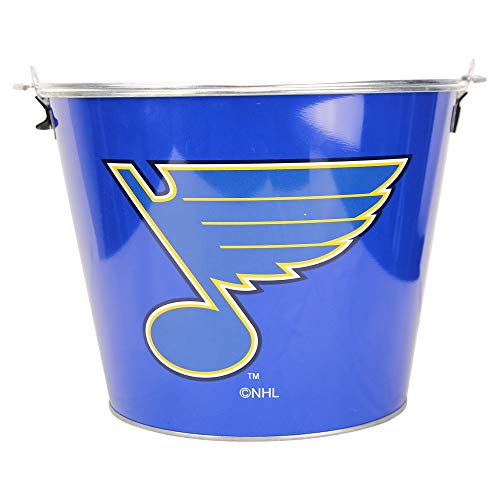 NHL Full Color Team Logo Aluminum Beer Bucket (St. Louis Blues) -