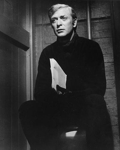 Michael Caine 8x10 Promotional Photograph sitting on toilet seat The Italian - Toilet Archive
