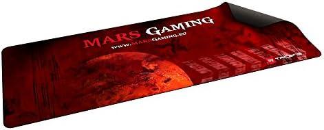 Tacens MMP2 - Alfombrilla para ratón Gaming, color negro y rojo