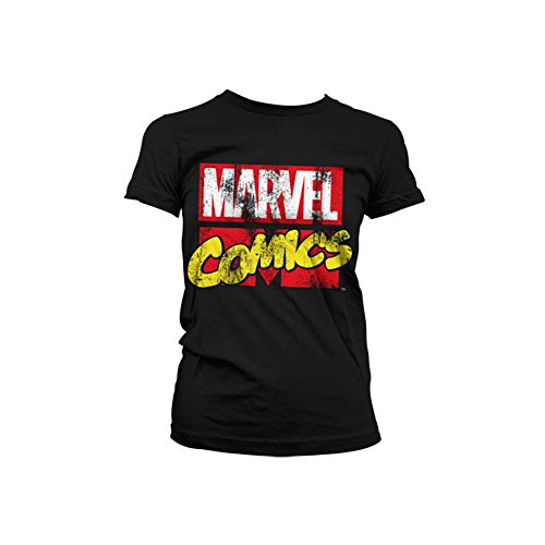 Marvel+Comics+Retro+Shirt Products : Officially Licensed Merchandise Marvel Comics Retro Logo Girly T-Shirt
