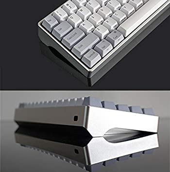 Poker and Most Customized Mechanical Keyboard,Blue SSSLG Keyboard case Metal Material fits Most 60/% Mechanical Keyboard DIY Mechanical Keyboard