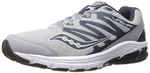 Men's Running Saucony Shoe Grey PowerGrid Navy Linchpin B4nOx1vq