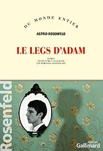 Le legs d'Adam par Rosenfeld