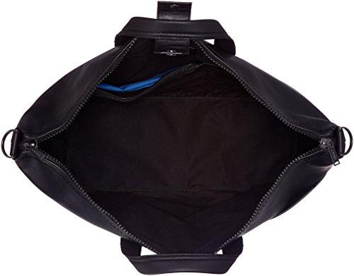 Calvin Klein Bennet Weekender, 001, Os, Borsa Organizer Portatutto Uomo, Nero (Black), 20 x 50 x 38 cm (W x H x L)