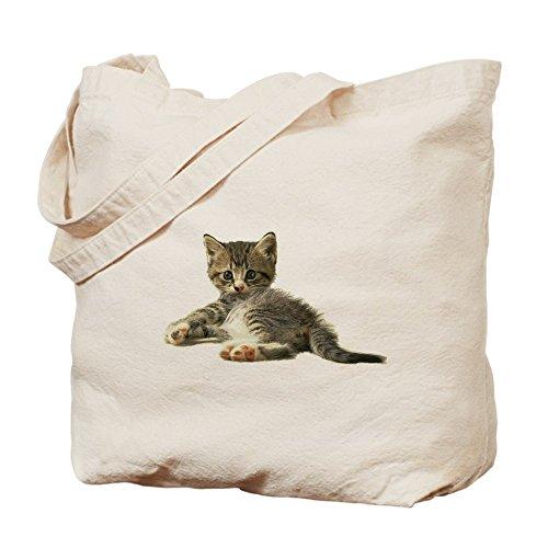 CafePress diseño de gato de gato 'MEOW'–Gamuza de bolsa de lona bolsa, bolsa de la compra