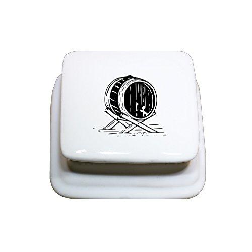 Porcelain Barrel - 6