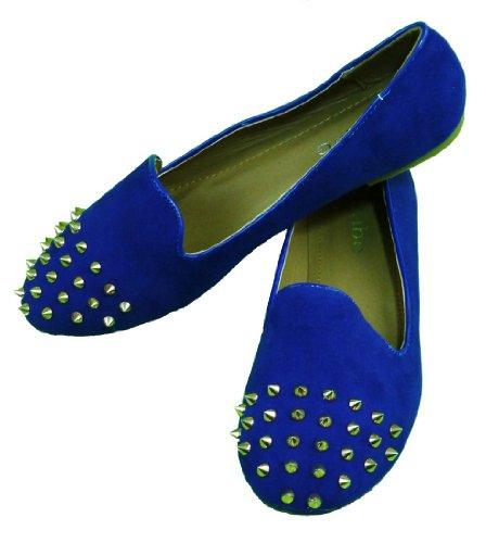 US Blue Color flats JADA 9 Size Casual shoes wvBAAH