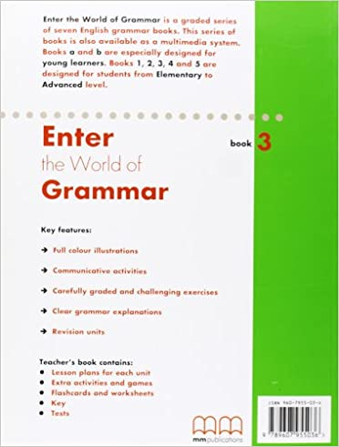 Enter the World of Grammar 3 Student's Book: Mitchell H.Q. ...
