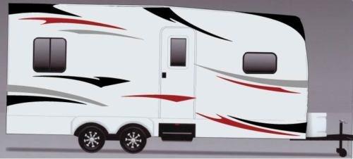 Decal Graphics Kit (RV, Trailer Hauler, Camper, Motor-home Large Decals/Graphics Kits 24-k-2)