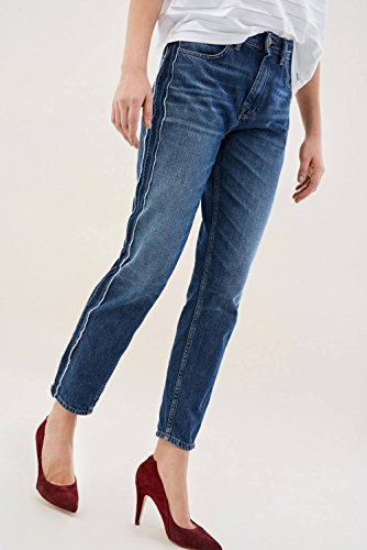 lateral Blue Jeans Detail Mom Salsa with 87wFX