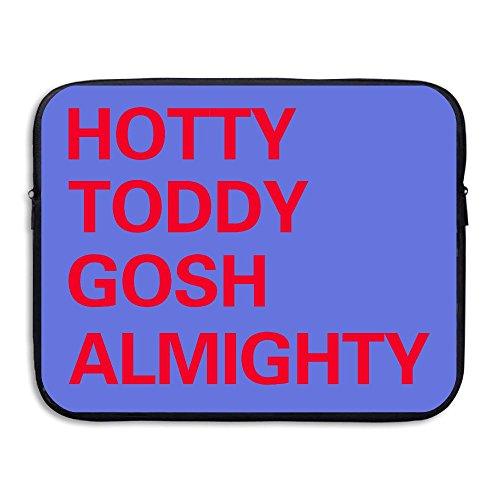 Price comparison product image Computer Bag Laptop Case Slim Sleeve Hotty Toddy Gosh Almighty Waterproof 13-15In IPad Macbook