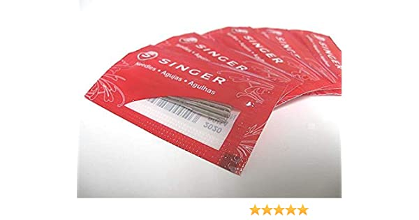 50 agujas para máquinas de coser Singer Featherweight 221/222 y muchos más: Amazon.es: Juguetes y juegos