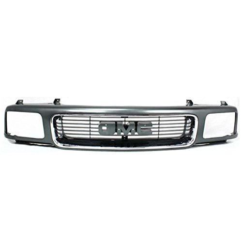 Koolzap For 94-97 Sonoma Pickup Truck Front Grill Grille Assembly Chrome GM1200355 15647633