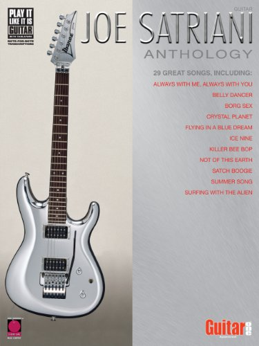 Joe Satriani Anthology Songbook (Tabs Joe Satriani Guitar)