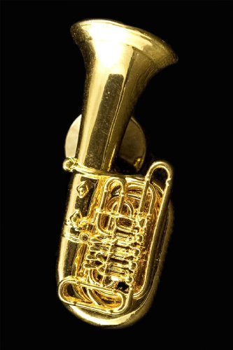 Tuba Pin - 24k Gold Plated 150.11