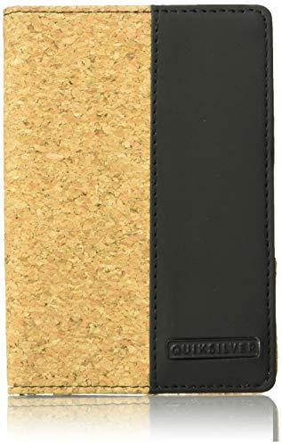 (Quiksilver Men's BLACKWINE Wallet, dobby black, M)