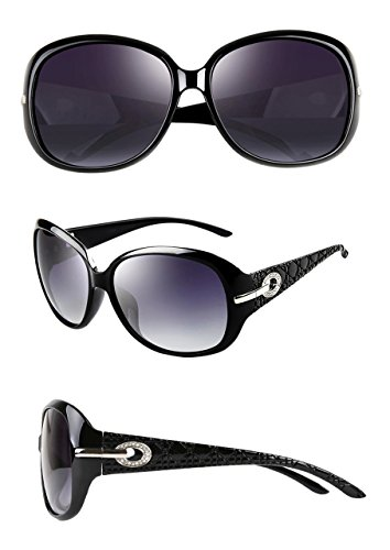 soleil Noir Femmes UV400 ATTCL de Lunettes Polarisées Vintage gqnx0aY
