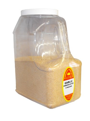 GARLIC POWDER GRANULATED 5 LB. JUG RESTAURANT SIZE by Marshall's Creek Spices