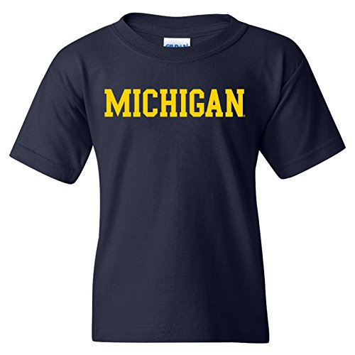 Michigan Wolverines Basic Block Youth T-Shirt -