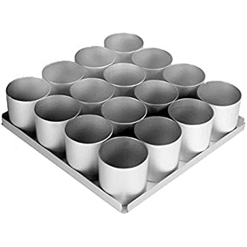 Amazon Com Alan Silverwood 16 Piece 3 Inch Round Cake Pan