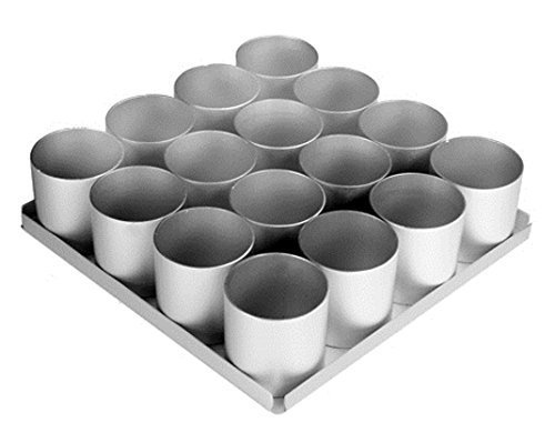 Alan Silverwood 16 pieceRound Multi Mini Cake Pan Set 2.5