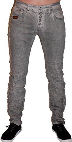 Blue Monkey Jeans, Herren,Modell Alex, BM-4239,Grau