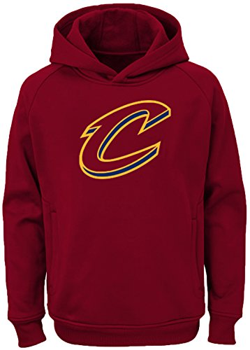 d29ef7129dd Outerstuff NBA Youth Team Color Performance Primary Logo Pullover  Sweatshirt Hoodie (Large 14 16