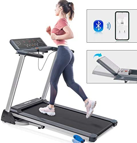 Merax Folding Electric Motorized Running Treadmill