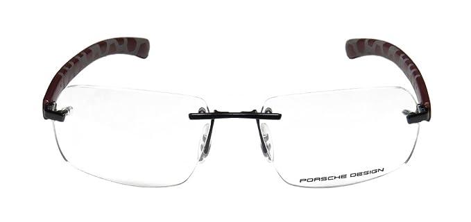 e02bb445f7f Porsche Design 8202 S1 Mens Designer Rimless Eyeglasses Eyewear (58-16-135