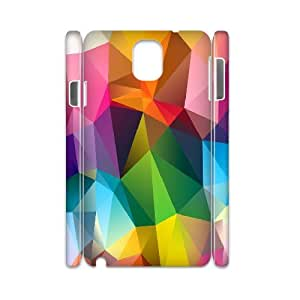 3D Doah Geometric View Case for Samsung Galaxy Note 3 Printed, Samsung Galaxy Note3 Case Luxury for Teen Girls Protective with White