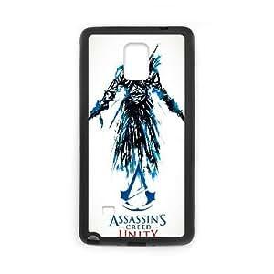 Generic for Samsung Galaxy Note 4 Cell Phone Case Black Assassin's Custom HKADSGHGO2270
