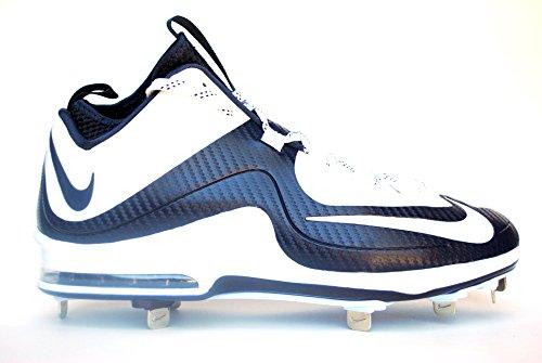 Nike Hommes Air Max Mvp Élite Mi-chaussures De Baseball En Métal Blanc /  Blanc