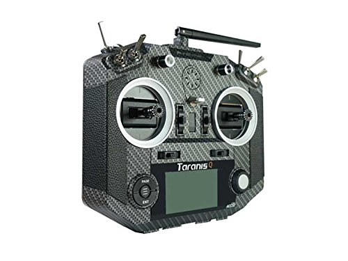 FrSky Upgraded Taranis QX7s With M7 Hall Sensor Gimbal 16 Channels Transmitter-Carbon Fiber