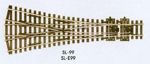 Peco ペコ SL99 H0 1/87 線路(レール)ポイント分岐器ターンアウト