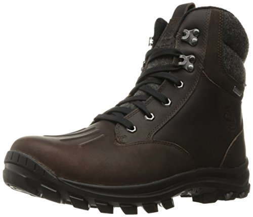 Timberland Men's Chillberg Mid WP Insulated Snow Boot, Mulch TBL Forty Full Grain, 8.5 M US ()