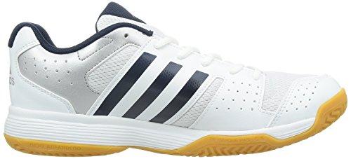buy online 9a6ef 17b9e adidas Performance Ligra 3, Herren Volleyballschuhe, Weiß (FTWR  WhiteCollegiate NavyTech Silver Met. F13), 48 23 EU (13 Herren UK)  Amazon.de Schuhe  ...