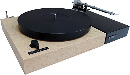 Perpetuum Ebner PE 2525 Turntable with Thorens Tonearm, Dust Cover (Maple)
