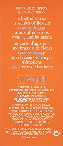 Happy By Clinique For Women, EDP Spray