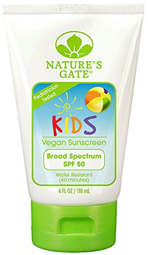 Natures Gate Kids Block SPF 50, 4 Fl.oz