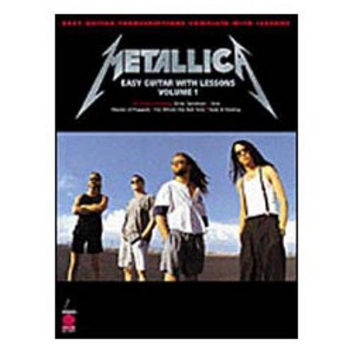 (Cherry Lane Metallica Easy Guitar Tab Songbook)