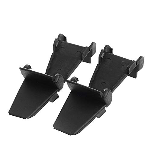 HeroStore 4Pcs Plastic Black Auto Tyre Tire Changer Rim Clamp Jaw Cover Protector Guards Wheels Tyres Tyre Accessories Vehicle Parts ()